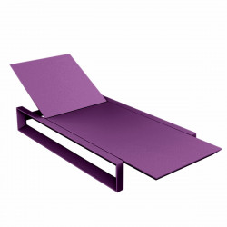 Chaise longue Frame, Vondom violet Mat