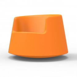 Fauteuil Roulette, Vondom orange, modèle enfant