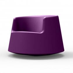 Fauteuil Roulette, Vondom violet, modèle adulte