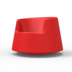 Fauteuil Roulette, Vondom rouge Grand modèle