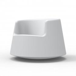 Fauteuil Roulette, Vondom blanc Grand modèle
