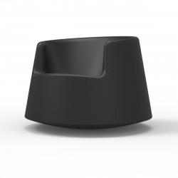 Fauteuil Roulette, Vondom noir Grand modèle