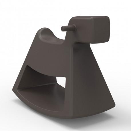 Chaise à bascule Rosinante, Vondom bronze Grand modèle