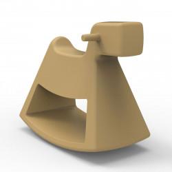 Chaise à bascule Rosinante, Vondom beige Grand modèle