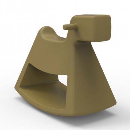 Chaise à bascule Rosinante, Vondom kaki Grand modèle