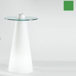 Table de bar Peak, Slide Design vert D70xH80 cm