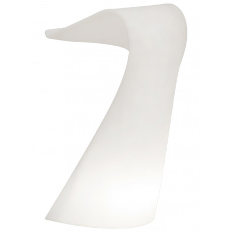 Pupitre design Swish, Slide blanc
