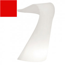 Pupitre design Swish, Slide rouge