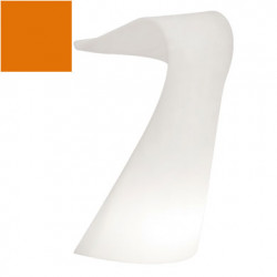 Pupitre design Swish, Slide orange