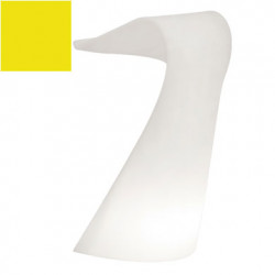 Pupitre design Swish, Slide jaune