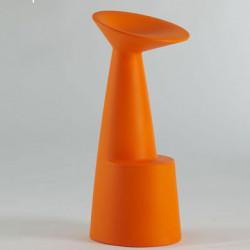 Tabouret de bar design Voilà, Slide Design orange