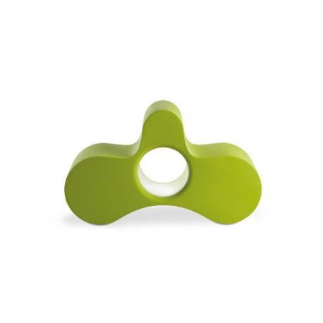 Fauteuil/ table basse Wheely, Slide Design vert