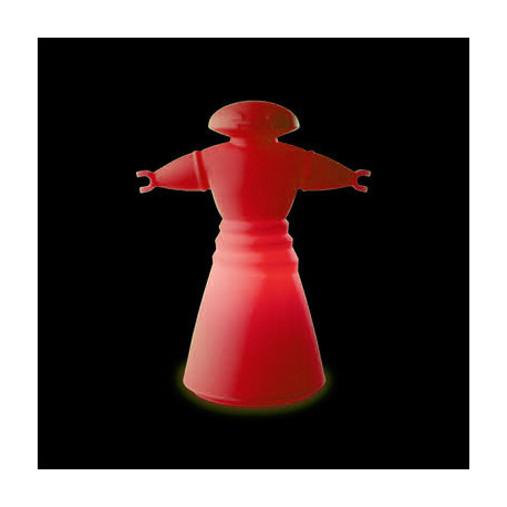 Lampe Mr Bot, Slide Design rouge