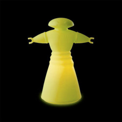 Lampe Mr Bot, Slide Design jaune