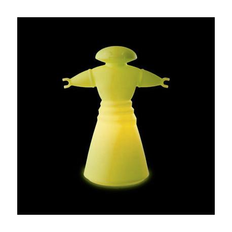 Lampe Mr Bot, Slide Design jaune