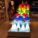 Lampe Mr Bot, Slide Design vert