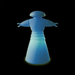 Lampe Mr Bot, Slide Design bleu