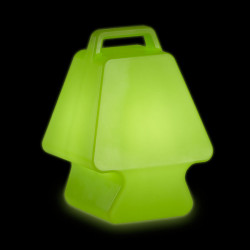 Lampe Prêt à porter, Slide Design vert Lumineux à ampoule