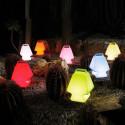Lampe Prêt à porter, Slide Design blanc Lumineux LED RGB