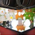 Lampe Dino Indoor, Slide Design blanc D117xH160 cm