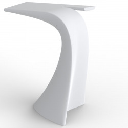 Table haute design Wing, Vondom blanc Mat