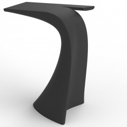 Table design Wing, Vondom anthracite Mat