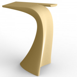 Table haute design Wing, Vondom beige Mat