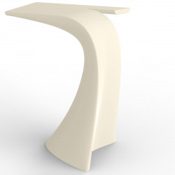 Table haute design Wing, Vondom écru Mat