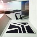 Table haute design Wing, Vondom rouge Mat