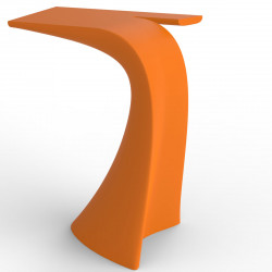 Table haute design Wing, Vondom orange Mat
