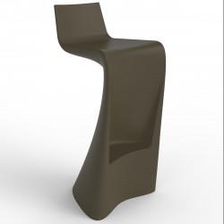 Tabouret de bar Wing, Vondom bronze Mat