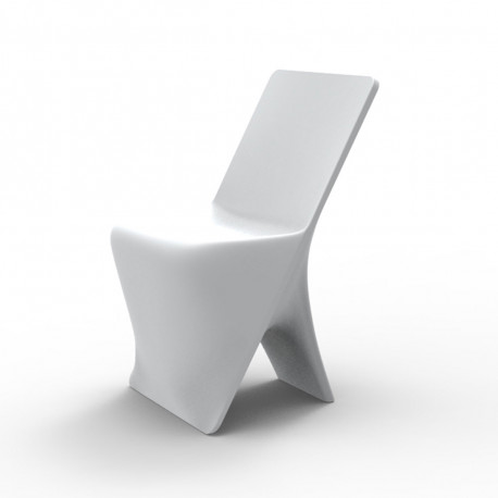 Chaise design Sloo, Vondom blanc