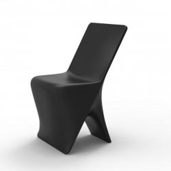 Chaise design Sloo, Vondom noir