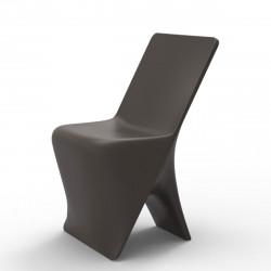 Chaise design Sloo, Vondom bronze