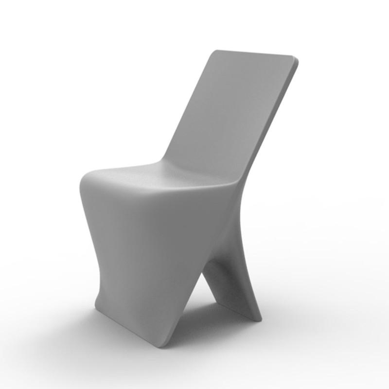 chaise design sloo vondom acier cerise sur la deco. Black Bedroom Furniture Sets. Home Design Ideas