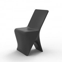 Chaise design Sloo, Vondom anthracite