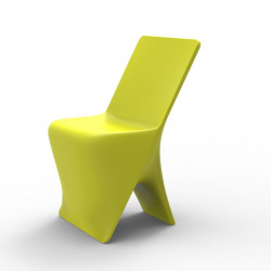 Chaise design Sloo, Vondom pistache