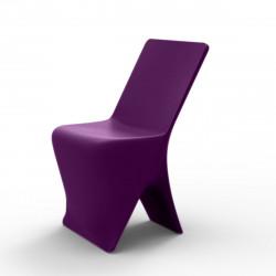 Chaise design Sloo, Vondom violet