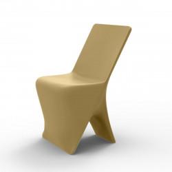 Chaise design Sloo, Vondom beige