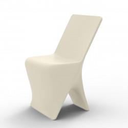 Chaise design Sloo, Vondom écru