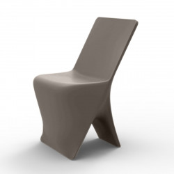 Chaise design Sloo, Vondom taupe