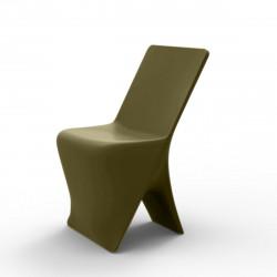 Chaise design Sloo, Vondom kaki