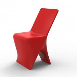 Chaise design Sloo, Vondom rouge
