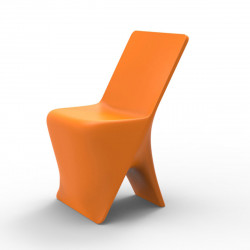 Chaise design Sloo, Vondom orange