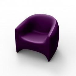 Fauteuil Blow, Vondom violet Mat