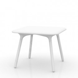 Table Sloo 90, Vondom blanc 90x90x72 cm