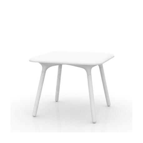 Table Sloo 90, Vondom blanc 90x90x72 cm