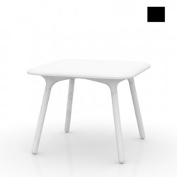 Table Sloo 90, Vondom noir 90x90x72 cm