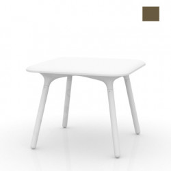 Table Sloo 90, Vondom bronze 90x90x72 cm