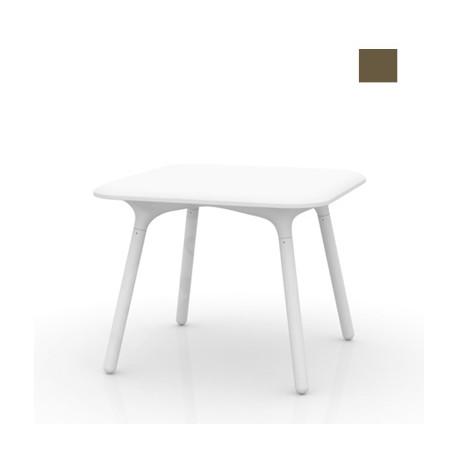 Table Sloo 90, Vondom bronze 90x90x72 cm